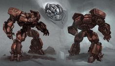 Warpath concept from Transformers: Dark of the Moon game