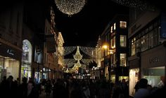 a favorite memory - Christmastime at Grafton St.