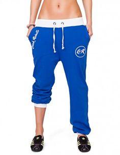 CHICK REBELLE -   Fitnesshose im College-Baseball-Style Klasse Sporthose - jung, frech, hip