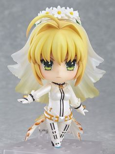 Good Smile Nendoroid PSP Fate Extra CCC Saber Bride Figure Anime Japan | eBay