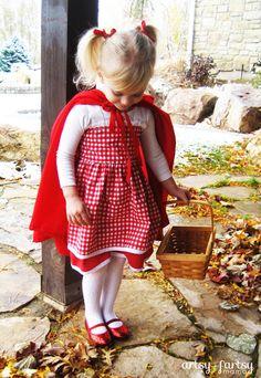 artsy-fartsy mama: Little Red Riding Hood