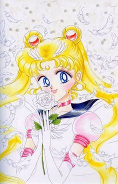 Sailor Moon Manga Graphic