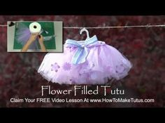 How to Make a Rose Petal / Flower Filled Tutu (Sewing and Non Sewing Directions) | hubpages