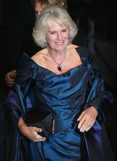 Camilla, Duchess of Cornwall attends the Royal Variety Performance at London Palladium on November 25, 2013 in London, England.