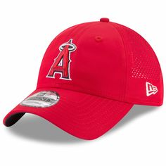 quality design 92a8e 3560c Men s Los Angeles Angels New Era Red Perforated Pivot 9TWENTY Adjustable Hat,  Your Price   25.99