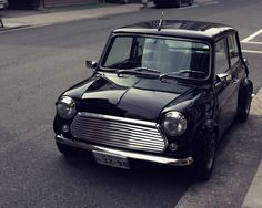 This is one bad looking vintage MINI!