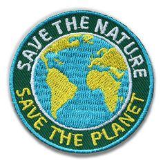 Save the Nature - Stick-Abzeichen für den Natur- und Umwelt-Schutz
