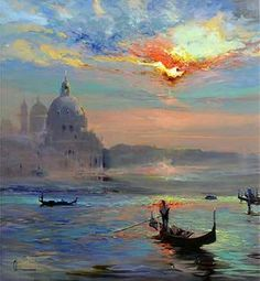 Chuck Larivey - Venice another time- Oil - Painting entry - May 2017 BoldBrush Painting Competition Simple Oil Painting, Oil Painting Tips, Oil Painting Techniques, City Painting, Oil Painting Flowers, Painting Still Life, Online Painting, Oil Painting Abstract, Venice Painting