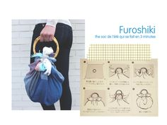 julie ♥ adore: DIY: sac furoshiki