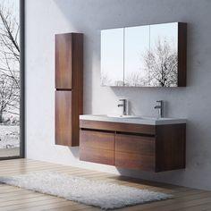 Design Badmöbel Badezimmermöbel Badezimmer Waschbecken Waschtisch Set BOTANICA in Möbel & Wohnen, Möbel, Badmöbelsets | eBay