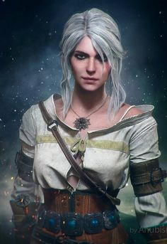 Ciri , the witcher.