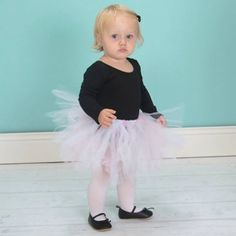"The Leotard Boutique fan feedback: ""So freaking adorable, my uncooperative little ballerina looks so cute in it!"" --> BLACK LONG SLEEVE LEOTARD FOR TODDLERS AND GIRLS"
