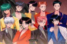 90 Anime, Anime Art, Photo Deco, Exo Lockscreen, Exo Fan Art, Z Cam, Fandom, Kpop Fanart, Anime Style