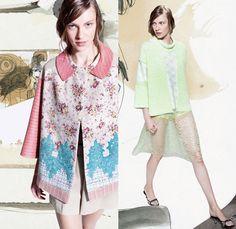 Antonio Marras 2014 Resort Womens Presentation - Cruise Collection Pre Spring Milan Italy: Designer Denim Jeans Fashion: Season Collections, Runways, Lookbooks and Linesheets