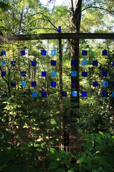 I'm going to add some glass to my wire fencing. Love it!