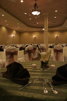 Wedding reception for 120 guests in ballroom C and D