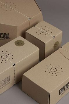 Custom-Fit Pastry Packaging - The Triticum Bread Packaging is Ergonomic and Hip in Design (GALLERY)