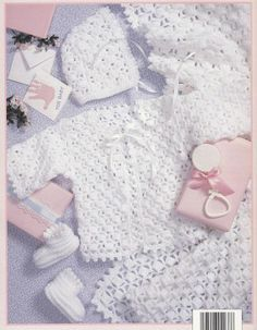 Free Newborn Crochet Layette Patterns Baby Layettes Pattern