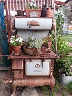 Traumhafte Gartendeko von pinimg.com