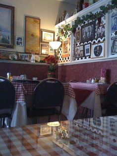 adorable, teeny italian restaurant in the middle of l-wood. the red and white checkered table cloths, candle centerpieces, italian-themed decor, make a cute atmosphere. really good food, too.