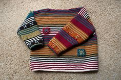I'm Jealous of a Kid's Sweater … Knitting Perfection! : I'm Jealous of a Kid's Sweater … Knitting Perfection! Knitting Blogs, Knitting For Kids, Hand Knitting, Knitting Projects, Animal Knitting Patterns, Sweater Knitting Patterns, Knit Baby Dress, Baby Pullover, Baby Cardigan