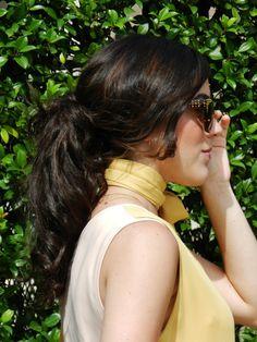 Modern Sixties | Kind Distinction http://www.kinddistinction.com/modern-sixties/ #fashion #style #retro #vintage #60s #60sinspired #lookbook #summer #summerstyle #fashionblog #bloggers #hair #hairstyle #ponytail #bighair