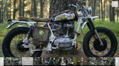 Chupito-Ducati 350 single