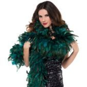 Deluxe Turquoise Fantasy Feather Boa