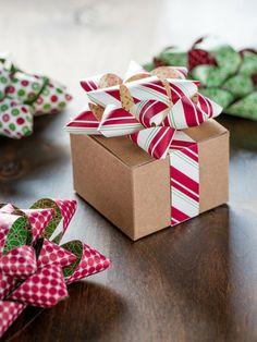Geschenke verzieren: Perfektes Finish: Süße Schleifen fürs Geschenk - How To - Anleitungen - burda style