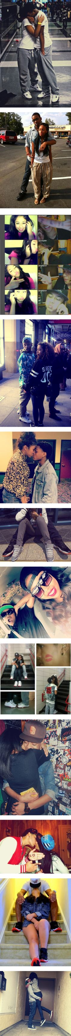 """""""swag couples"""" by swagbaby787 ❤ liked on Polyvore"""