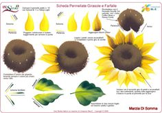 GIRASOLES - One Stroke Painting Ideas | One Stroke Schede - Real Madrid Wallpapers