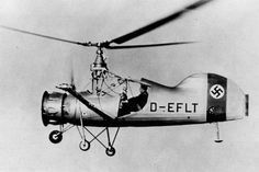The Germans were extremely advanced in their ability to build advanced weaponry and other scientific inventions. Fl185