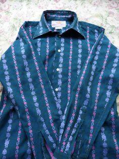 John Stephen of Carnaby Street Vintage 1960s Mens Shirt   £74.22 (5B)