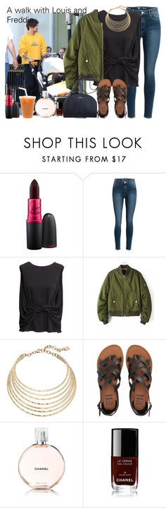 """""""Ain't too cool."""" by carla-limitededition ❤ liked on Polyvore featuring MAC Cosmetics, H&M, Robert Lee Morris, Billabong and Chanel"""
