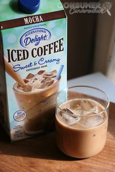 If you love Starbucks Frapps... Go to your local store and get this International Delights Iced Coffee.  Pour some in a container, freeze it.  Put in food processor with a splash of milk and your fave creamer....OMG!  I made this today and it was awesome!!!!!.....And so much cheaper.