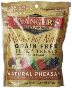 EVANGERS Nothing But Natural Pheasant Dog Treats 45Ounce *** Read more reviews of the product by visiting the link on the image.