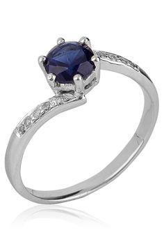 Bling Blue Ring