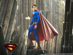 Brandon Routh Superman action cape