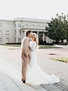 utah capitol sunset elopement wedding dress bridal session utah elopement photographer utah wedding photographer Light Colors, Utah, Wedding Dresses, Pictures, Photography, Inspiration, Style, Fashion, Bright Colours
