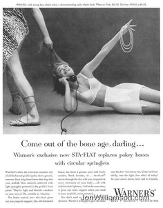 This is insulting on so many levels, and, of course, she can't even get off the phone. :( | 17 Ridiculously Sexist Vintage Ads