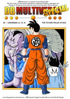 Universes 12, 14, 15 - The Future Majin attack - Page 699 - Dragon Ball Multiverse #SonGokuKakarot