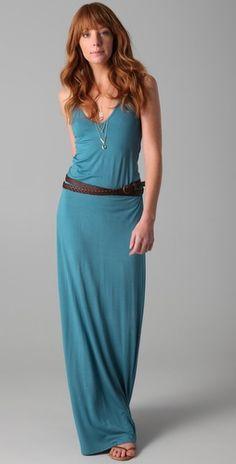 I like long dresses