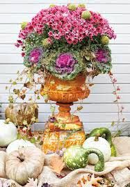 via     via     via     via     via     via     via     via     via     via   Just a little inspiration for Fall container gardening.   ...