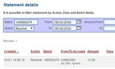 I am getting paid daily at ACX and here is proof of my latest withdrawal. This is not a scam and I love making money online with Ad Click Xpress. Join for FREE and get 20$ + 10$ + 5$ Monsoon, Ad and Media value packs from ACX. My #17 Withdrawal Proof of online income from Ad Click Xpress.