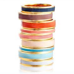 Astley Clarke Color Vintage Blue Enamel Ring