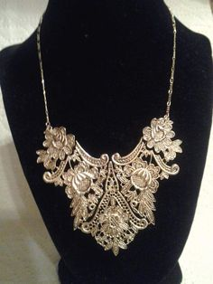 Filigree Necklace $30.00