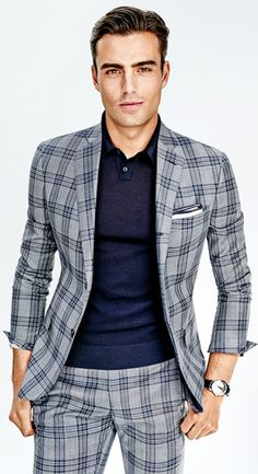This is a nice plaid but it can be overwhelming.  Still definately pin worthy.