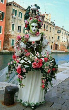 can find Venetian masquerade and more on our website Venice Carnival Costumes, Venetian Carnival Masks, Carnival Of Venice, Venetian Masquerade, Masquerade Ball, Venice Carnivale, Venice Mask, Mardi Gras, Costume Carnaval