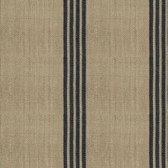 Ralph Lauren Fabric LFY50151F Driftwood Stripe Squid Ink