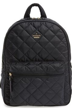 'ridge street siggy' quilted backpack